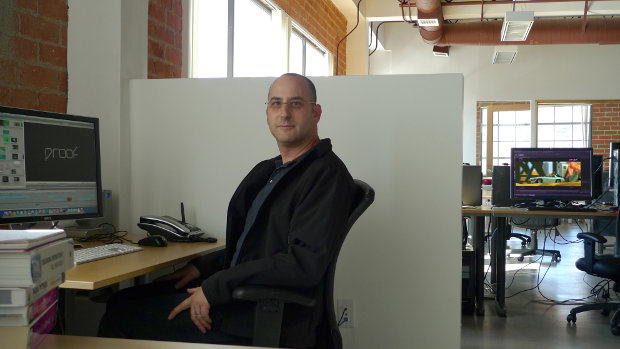 Ron Frankel at the Proof main office in Los Angeles.  All images except where noted are courtesy of Proof Inc.