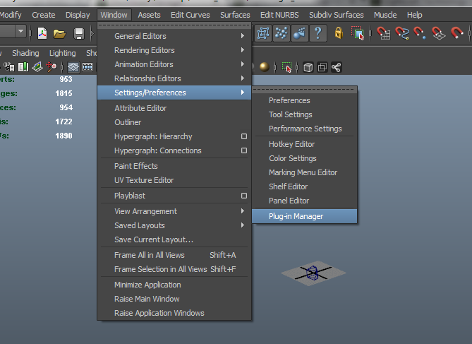 Loading FBX in Maya - Lightcraft Technology