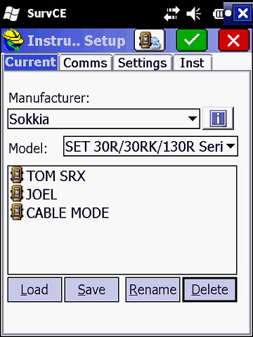 Data Collector_0037_Select Cable Mode
