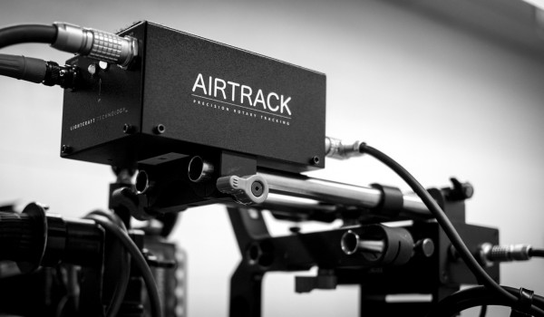Airtrack on Camera Rig